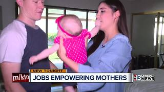 Las Vegas business owner helps empower mothers - Video