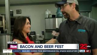 Bacon Mac and Cheese for Bacon and Beer Fest - Video