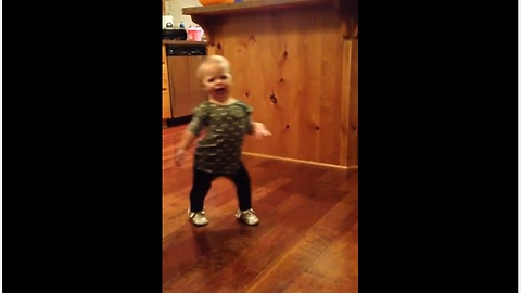 Toddler Imitating How Pregnant Mom Walks Will Brighten Your Day