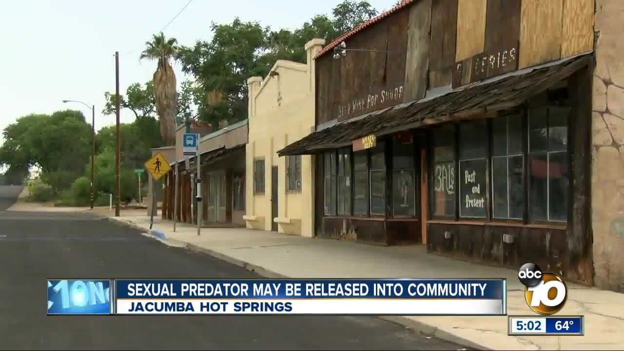 Predator may be placed in East County