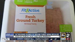 Thousands of pounds of ground turkey contaminated with metal shavings - Video
