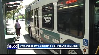 Rely on Public Transit? Valley Ride is implementing significant changes starting Monday