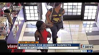 Police looking for 3 female robbery suspects - Video