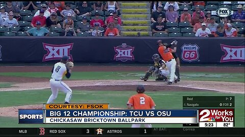 OSU Beats WVU 5-2, Wins Big 12 Title