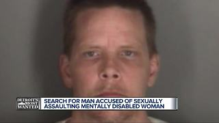 Detroit's Most Wanted: Michael McGrath wanted for sexually assaulting disabled woman - Video