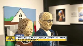 Traveling LEGO art display coming to Tampa