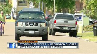 City's new plan for stopping speeders gets mixed reaction - Video