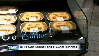 Wegmans gears up for playoffs and bills fans! - Video