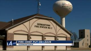 Germantown fire chief put on leave over