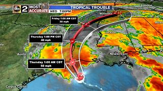 Tropical Storm Cindy Update - Video