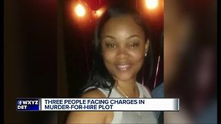 Three people facing charges in murder-for-hire plot - Video