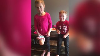 Brother Pulls His Sister's Loose Tooth Without Warning