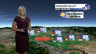 Temperatures climb through the weekend