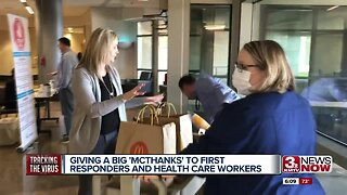 Effort gives thanks to first responders and healthcare workers