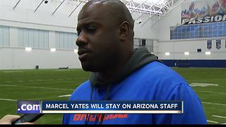 Former Bronco DC Yates will stay with Arizona - Video