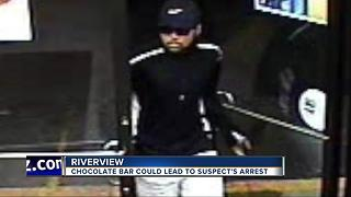 Chocolate bar could lead to robbery suspect's arrest - Video