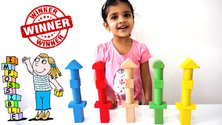 Importance of building blocks for early child development. Grow your child as WINNER!!! - Video