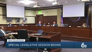 Idaho lawmakers begin special session due to coronavirus