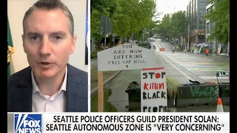 Seattle is 'closest I've ever seen' to being a 'lawless state:' Police union chief