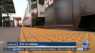 RTD is hiring - Video