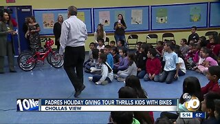 San Diego kids receive surprise