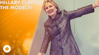 Fan-ception: Hilary Clinton is modeling for Katy Perry! - Video