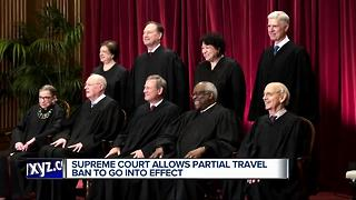 Supreme court reinstates travel ban - Video