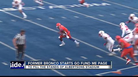 Former Bronco looks to 'Fill the Stands'