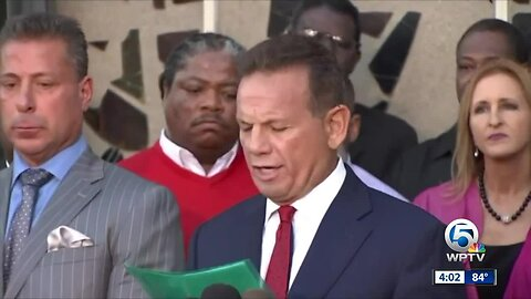 Push to re-instate Scott Israel as Broward County sheriff