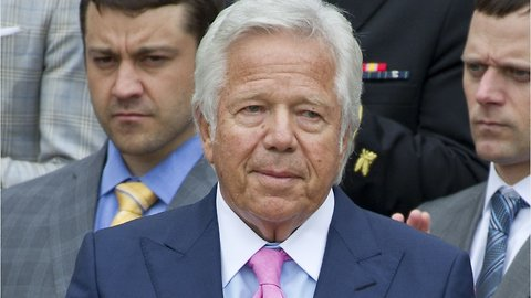 Patriots Owner Charged in Soliciting Prostitution