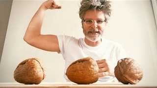 World's Weirdest Guru Crushes Walnuts With Bicep - Video
