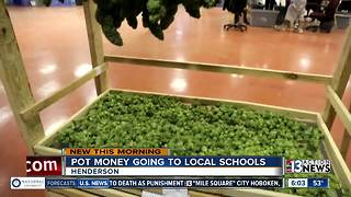 Marijuana money could be used for schools in Henderson - Video