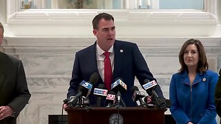 Gov. Stitt, Commissioner of Health, state officials Provides Coronavirus Update in OKC