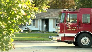 Man dies after being rescued from Taylor house fire