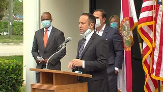 FULL NEWS CONFERENCE: Palm Beach County leaders talk about 'flattening the curve'
