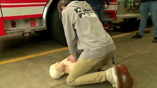 Colden teenager saves life at work