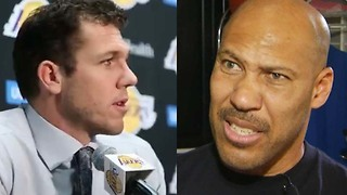 "Luke Walton Says He Benched Lonzo Ball Because of LaVar ""Talkin' Sh!t"" - Video"