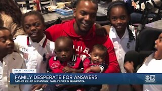 Family desperate for answers after father killed in Phoenix