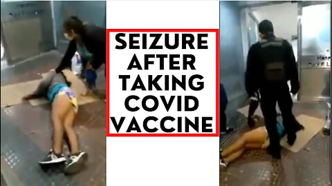 Woman Has Seizure After Taking Covid Vaccine In Argentina