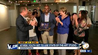 Leadership: At-risk youth get to use state-of-the-art studio - Video