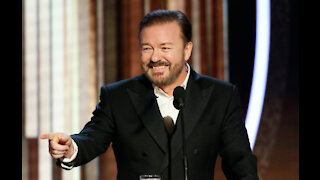 Ricky Gervais nearly died after drinking a smoothie