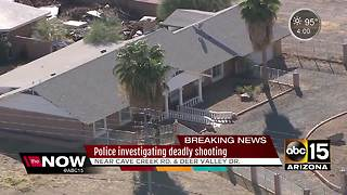 Police investigating deadly shooting in north Phoenix