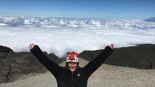 This Eight Year Old Became The Youngest Female To Climb Mount Kilimanjaro - Video