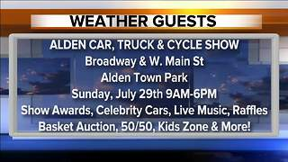 Weather Guests 07/24 - 5:30pm - Video