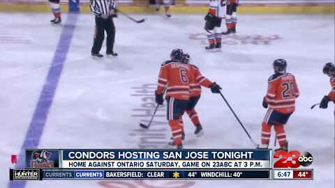 Bakersfield Condors back on the ice