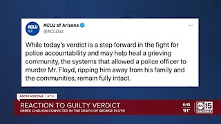 Valley leaders react to Chauvin guilty verdict