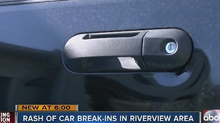 Thieves find unique way to break into woman's SUV - Video