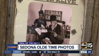 Take 'old' Sedona photos for half off! - Video