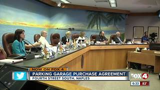 Naples parking garage moves forward - Video