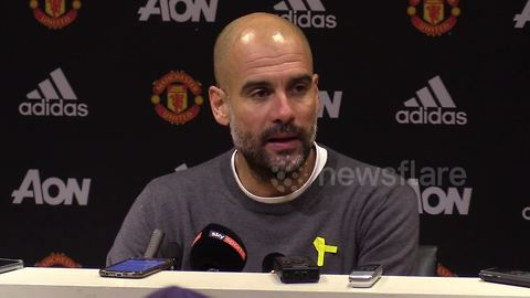Guardiola says City came to Old Trafford to win
